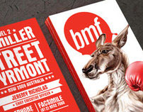 BMF Branding and Typography