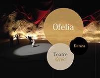 Proyecto Escenografía - Danza Ofelia (Hamlet)