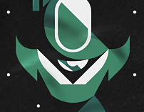 """Green lantern"" .  Skate Deck"