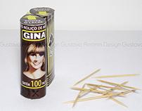 Nova embalagem Gina Palitos