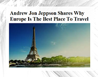 Andrew Jon Jeppson : Why Europe Best Place To Travel