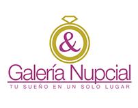 Galería Nupcial (logo y aplicaciones)