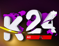 K24 Main Ident Rebrand Animation