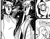 Commission: Lionheart comic