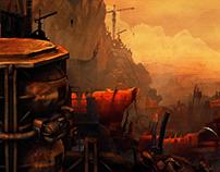Post-apocalypse (digital art)