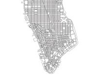 Manhattan Vector Map