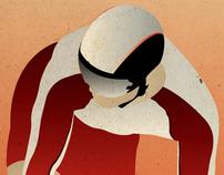 Poster Ciclismo de Pista