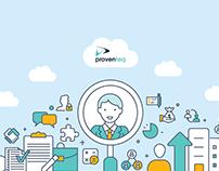 Datasheet design for Proventeq HRMS Platform