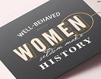 Women's History Month Invitation