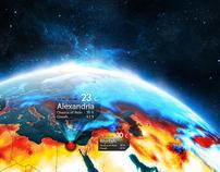 Heat Map - WeatherHD2