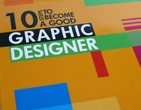 10 steps to become a good graphic designer
