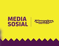 SOCIAL MEDIA FOR MONSTALAB