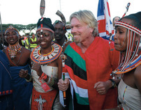 Virgin Atlantic : Inaugural Flight to Kenya