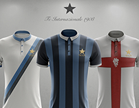 Vintage unbranded concept FC Internzionale 1908