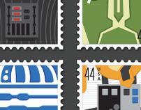 Star Wars: Stamp Series