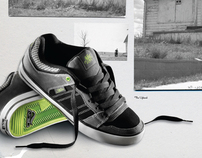 Adio Footwear Advertising