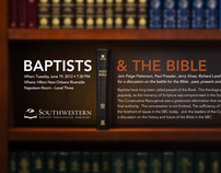 Baptist and the Bible Advertisement