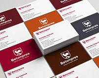 Betonpres – brand identity