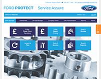Car Warranty Service System (Ford UK Dealerships)