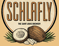 Schlafly Brand Packaging Illustrated by Steven Noble