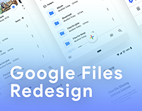 Google Files App (Concept)