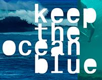 KEEP THE OCEAN BLUE - MEU INFINITO