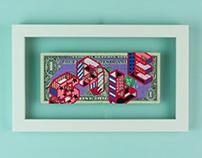 """100 Dollar Bills Y'ALL"" group art exhibition"