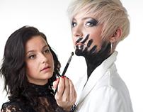 Malene Schmidt hairdresser and makeup project