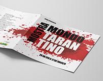 Folder Mostra Mondo Tarantino