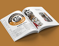 Editorial Design -Products Catalogue Carrig Brewing Co.