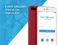 Online Grocery Application for IOS and Android
