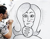 Illustrating Against Women Abuse