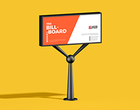 Free Advertisement Billboard Mockup