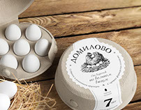 Domilovo eggs packaging
