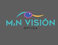 Logotipo M&N VISION