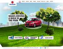 Suzuki Swift Website Design
