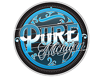 Pure Michigan Lettering Design