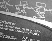 Cartel para curso de Adobe Flash