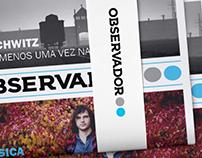 "Jornal ""Observador"" | Design Editorial"
