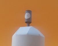 madl sharpest sprayer paper toy tribute