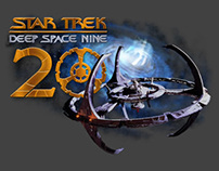 Star Trek: Deep Space 9 - 20th Anniversary logo