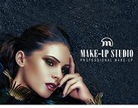 Hairdressing Wall Design/ Make-up studio
