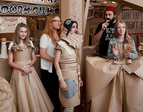 Craft Fashion in Cardboardia
