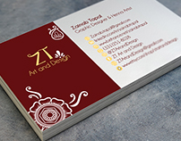 ZT Art and Design - Logo and Business Card