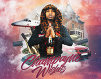 Lil Playboii - Champgne Wishes [Mixtape Cover]