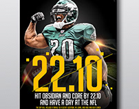Sports poster/flyer design