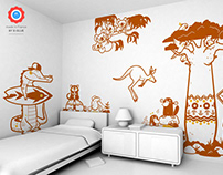 terra australis :: children's wall decals