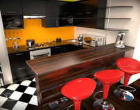 3D . Kitchens