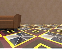 """Rhombus"" tile"