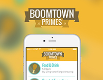 Boomtown A Simple Event App